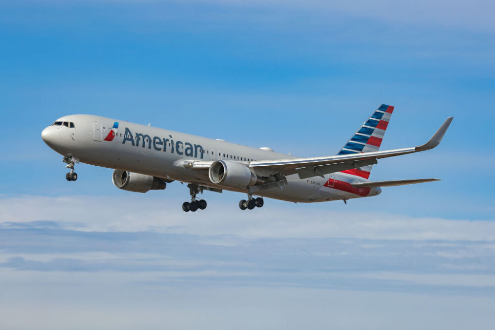 American Airlines Boeing 767 Getty
