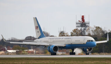 Boeing 757 C-32 Air Force Two Getty