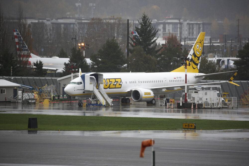 Ryanair Buzz Boeing 737 MAX Getty