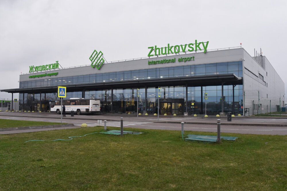 Zhukovksy Airport terminal