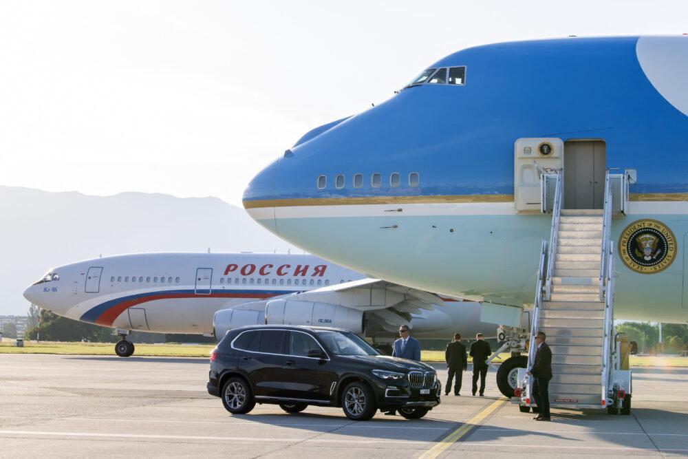 Putin Force One