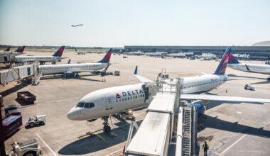 Delta Atlanta Aircraft Apron