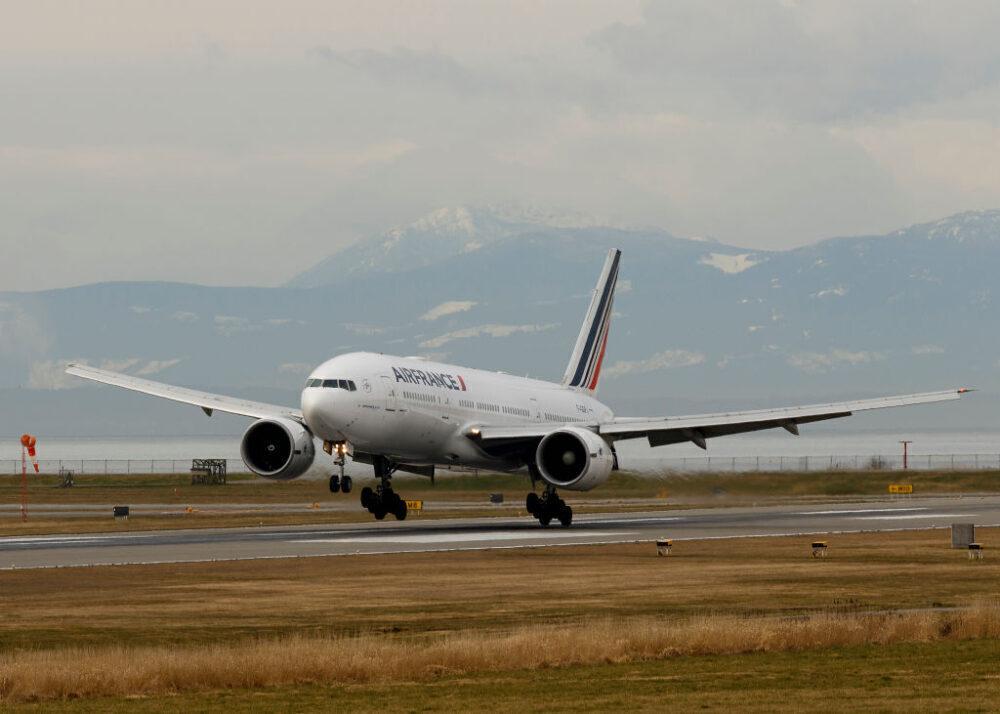 Jetée Boeing 777 d'Air France