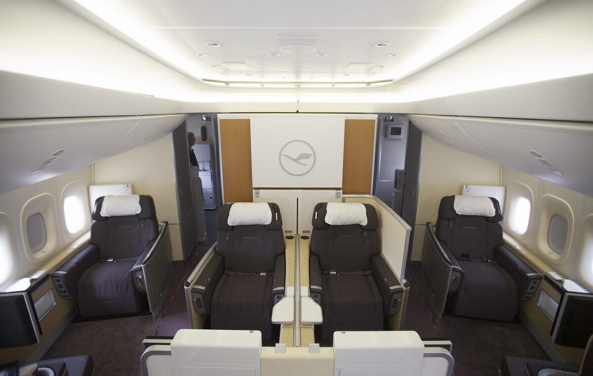 Lufthansa, Airbus A350, First Class