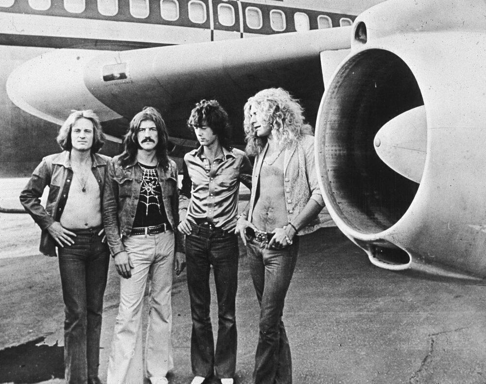 Led Zeppelin Boeing 720