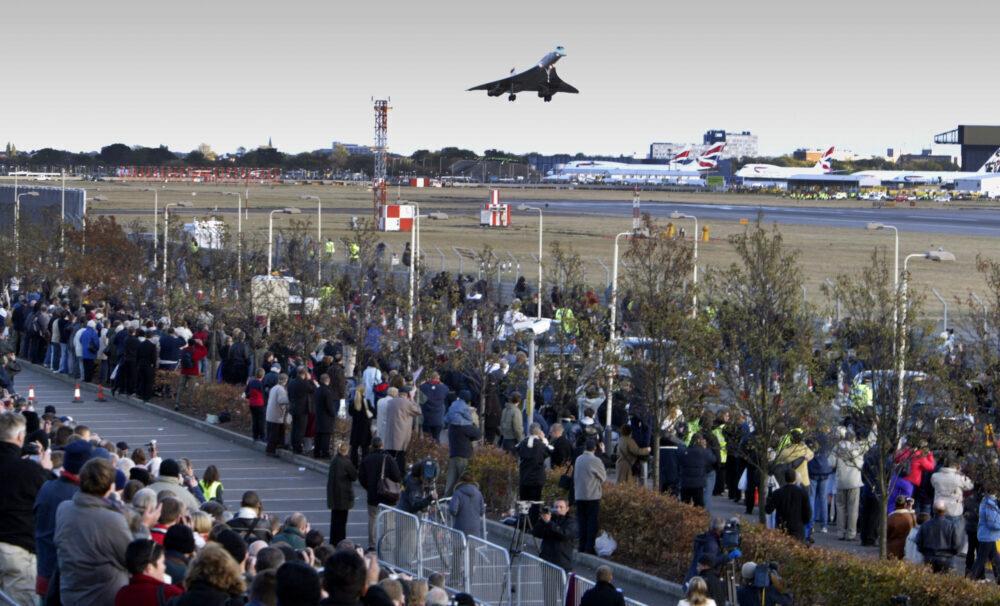 Concorde Final Heathrow Landing Getty