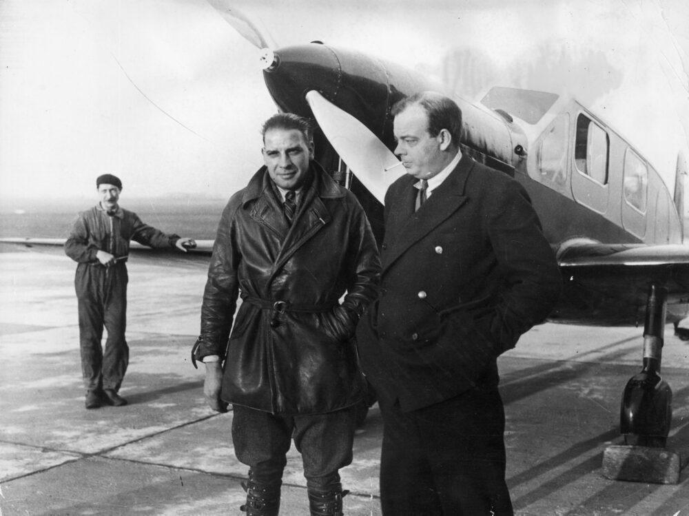 Saint-Exupéry flew Aéropostale