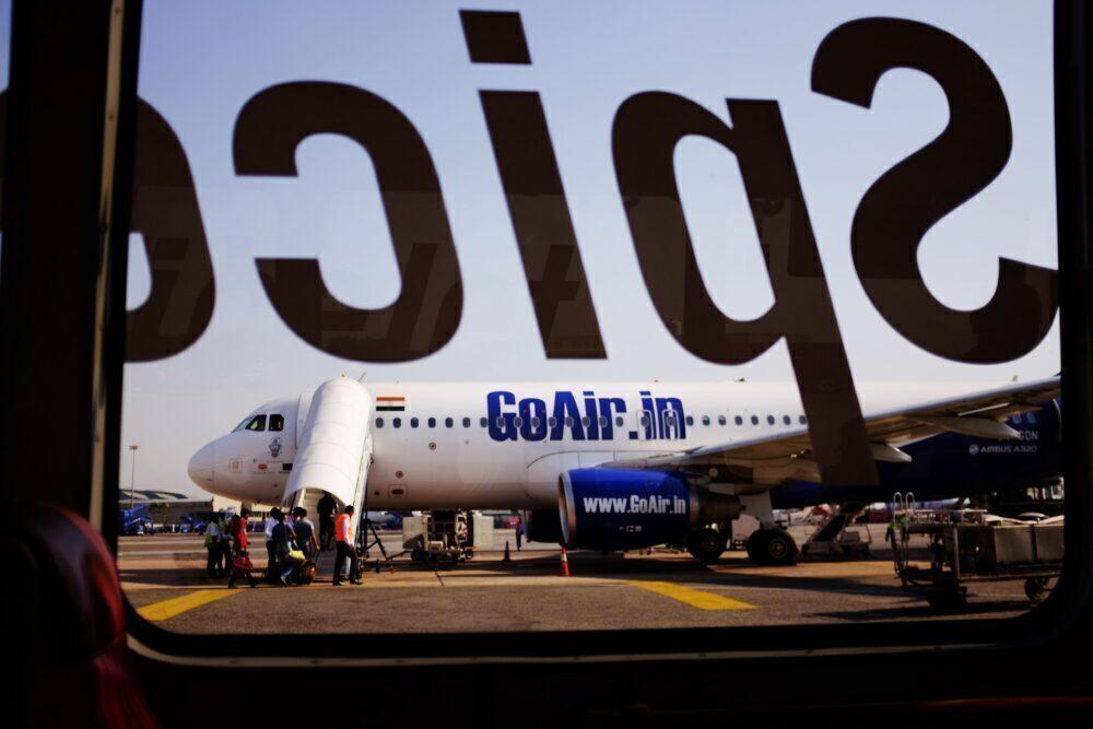 GoAir A320 SpiceJet