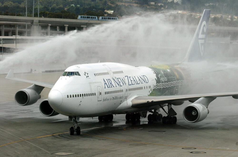 Air New Zealand Boeing 747 Getty