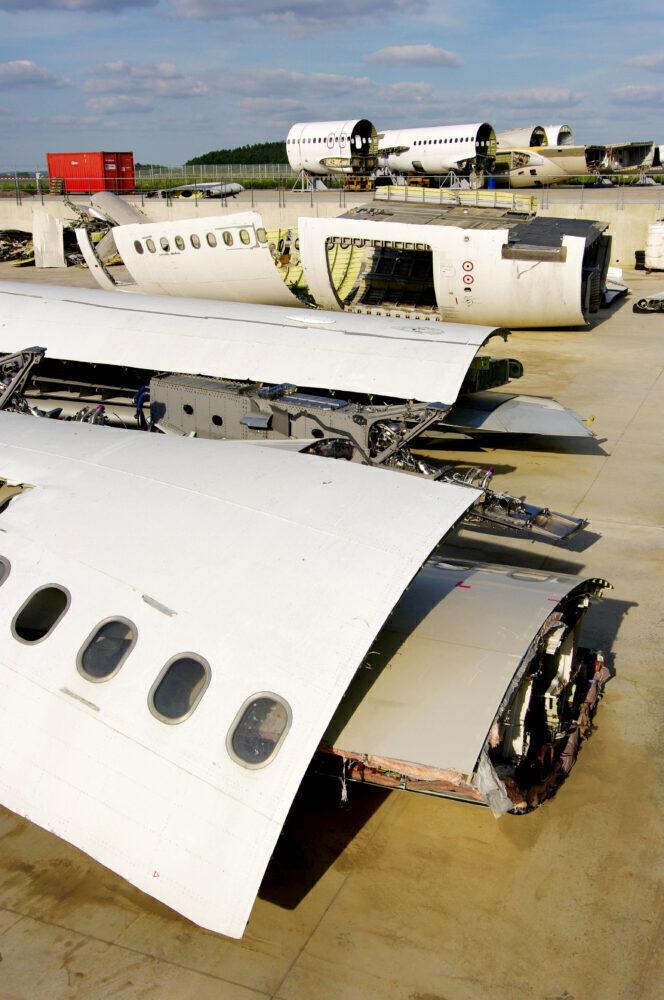 Aircraft scrap