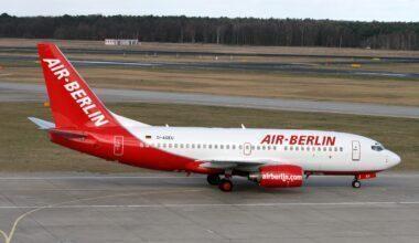 Air Berlin 737 Jet