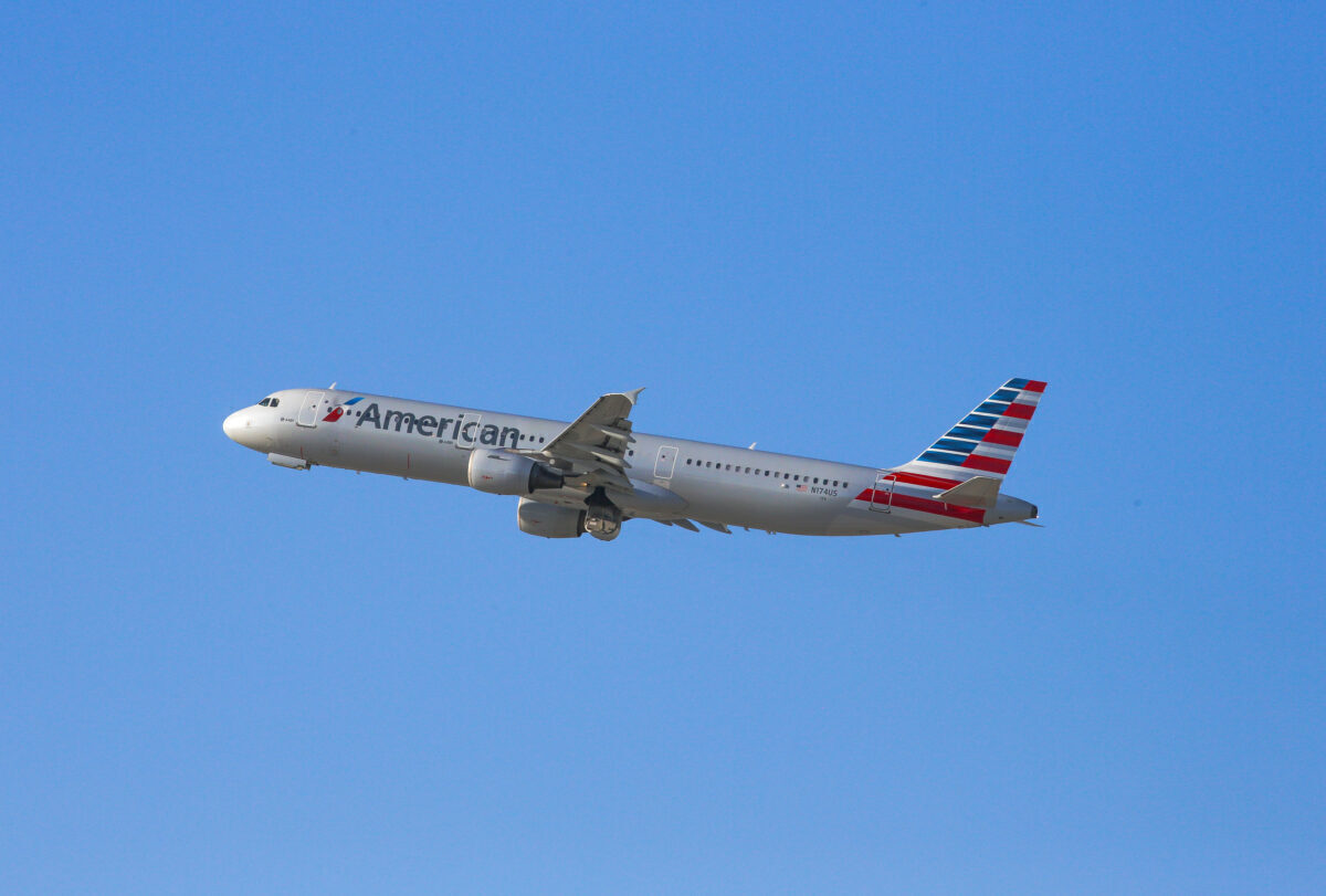 American Airlines A321 getty