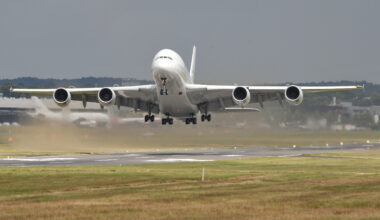 Airbus, A380, Hydrogen Tests