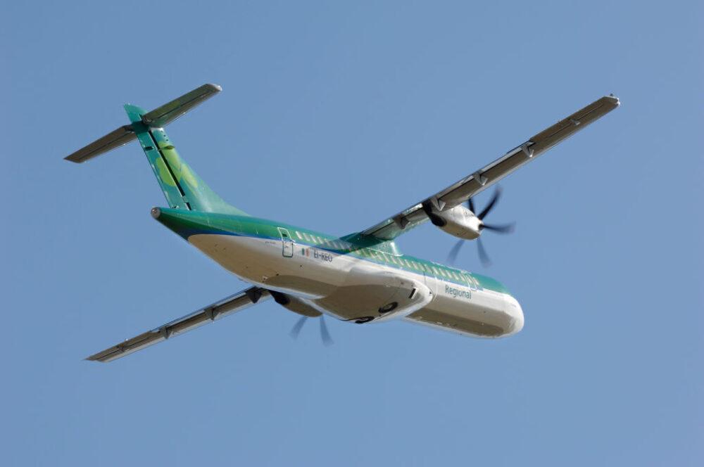 Aer Lingus regional Stobart Air ATR 72