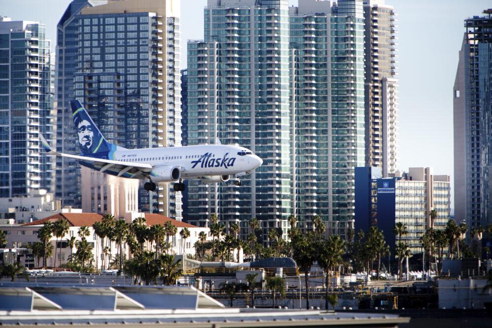 San Diego Alaska Airlines