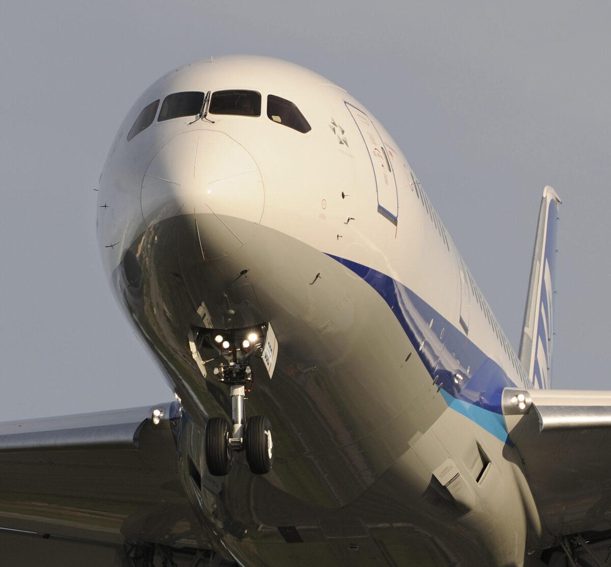 ANA Flies Domestic Boeing 787-8 Flight Using SAF