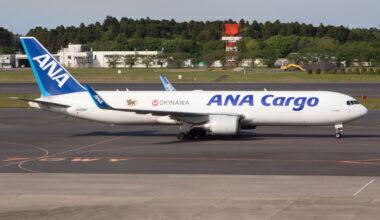 ANA Cargo Boeing 767F Getty