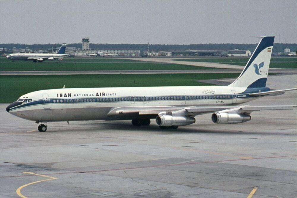Iran Air Being 707