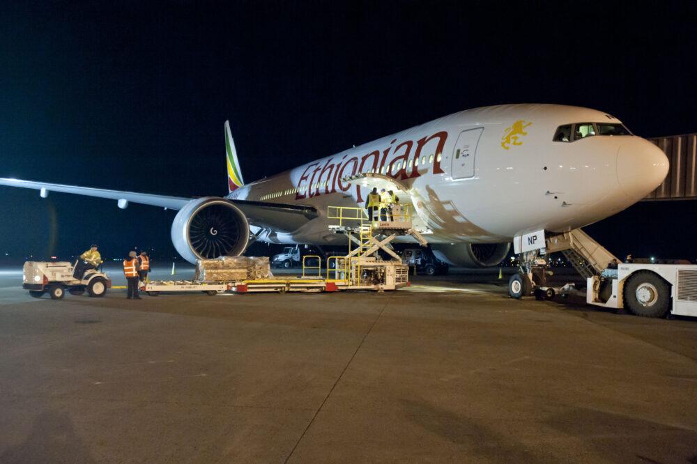 Ethiopian Airlines Boeing 777