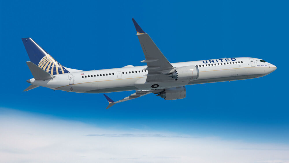 United Airlines Boeing 737 MAX 10