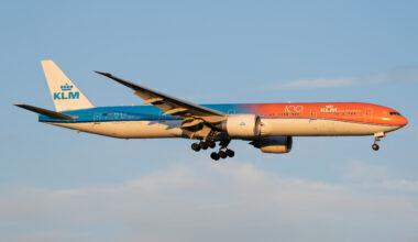 KLM (Orange Pride Livery) Boeing 777-306(ER) PH-BVA