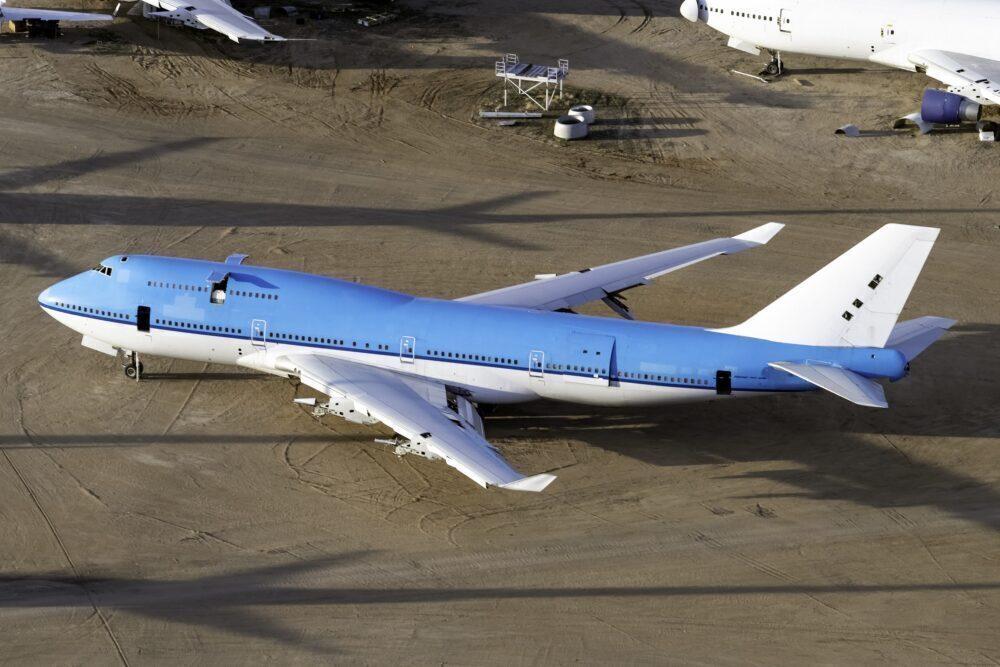 KLM Retired Boeing 747-406