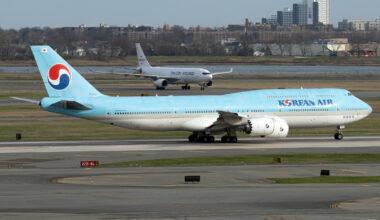 Korean Air Boeing 747-8B5 HL7632