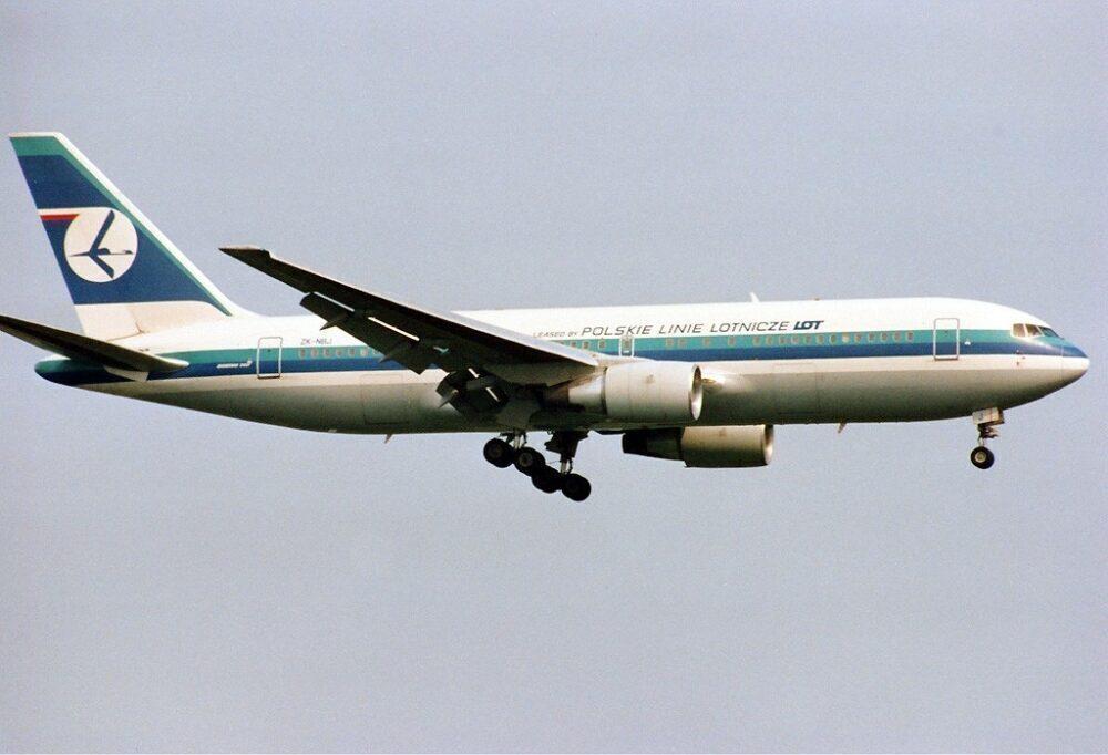 Lot Polish Airlines Boeing 767-200ER