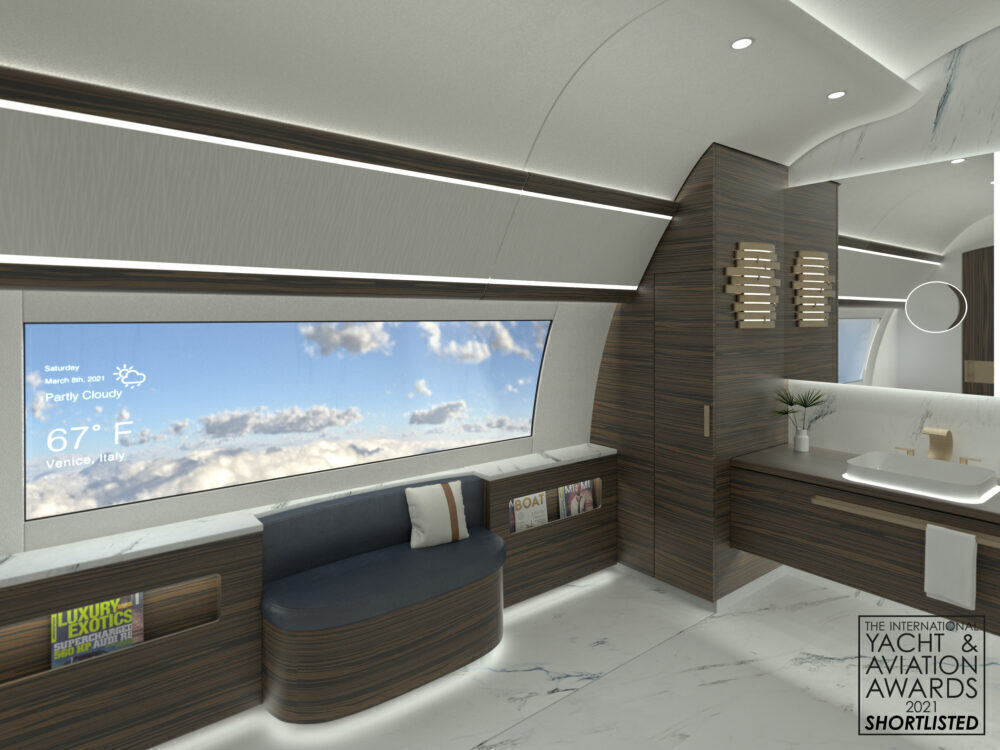 777X Concept Artless business jet