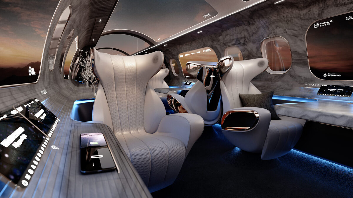 The Maverick Project: The Business Jet Cabin Of The Future?