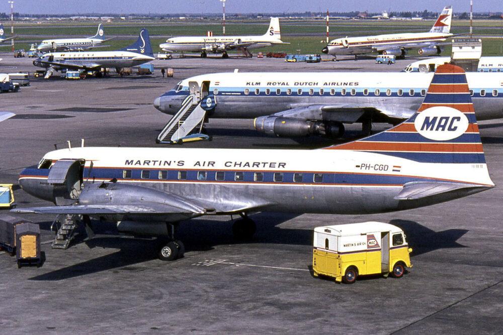 Amsterdam Schipol Airport Apron
