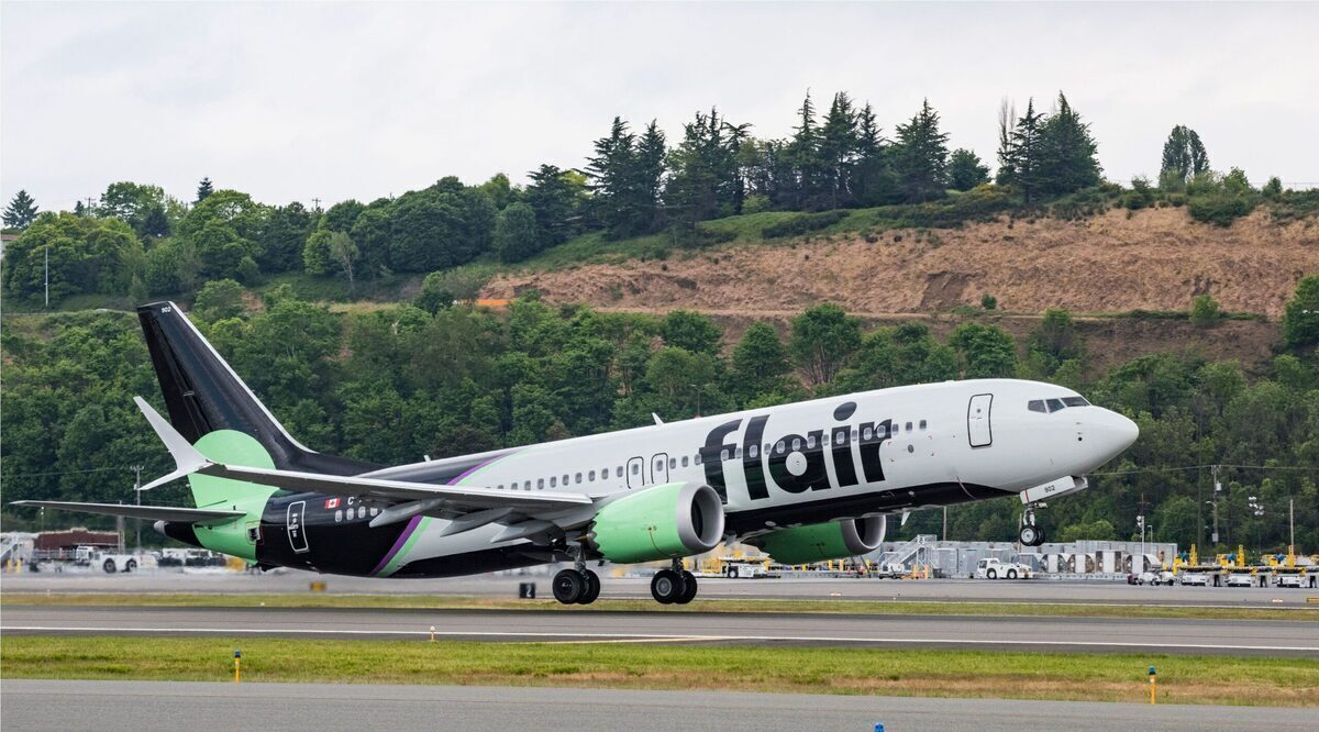 Canada's Flair Airlines Operates Inaugural Boeing 737 MAX Flight