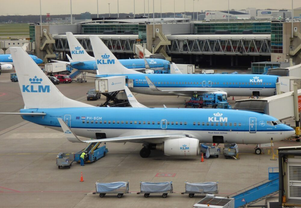 KLM Boeing 737s Amsterdam