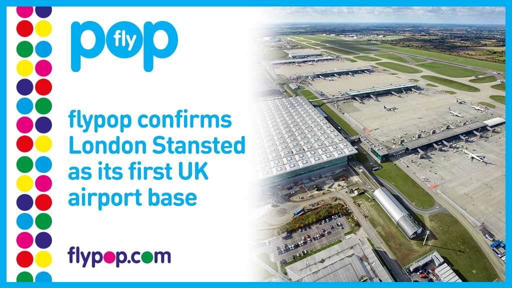 flypop, London Stansted, Base