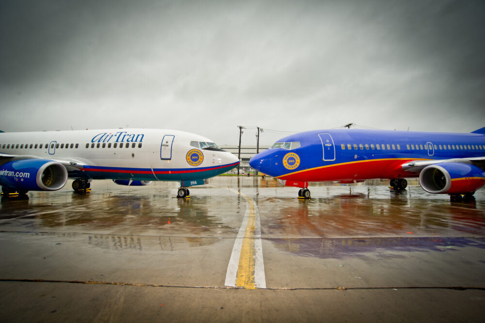 Southwest and AirTran