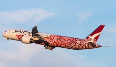 Qantas (Yam Dreaming Livery) Boeing 787-9 Dreamliner VH-ZND (3)