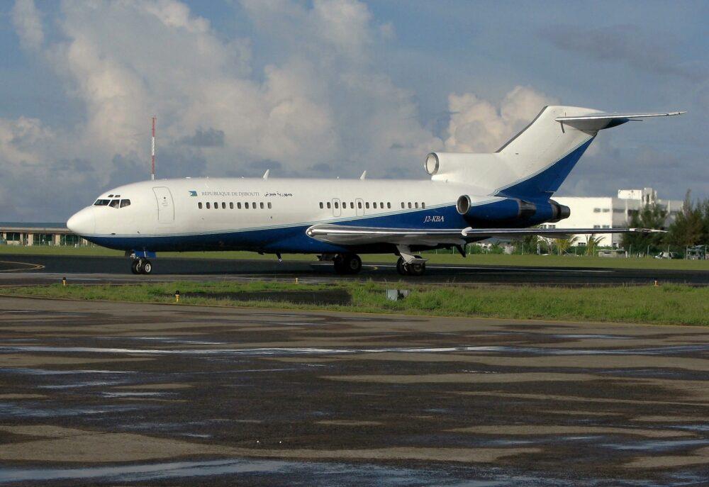 Djibouti Air Force 727