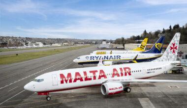 Ryanair, Boeing 737 MAX, Liveries