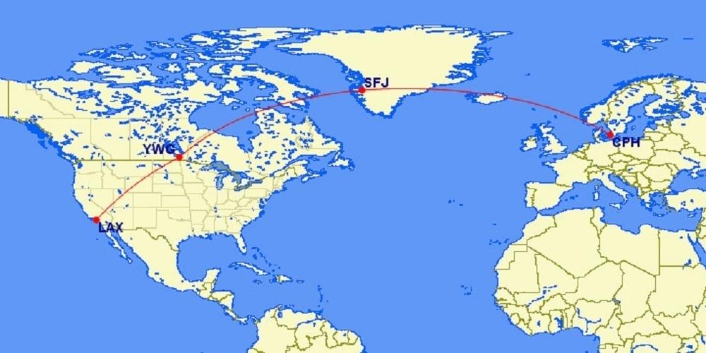 SAS Polar Map