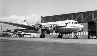 SAS Douglas DC-6