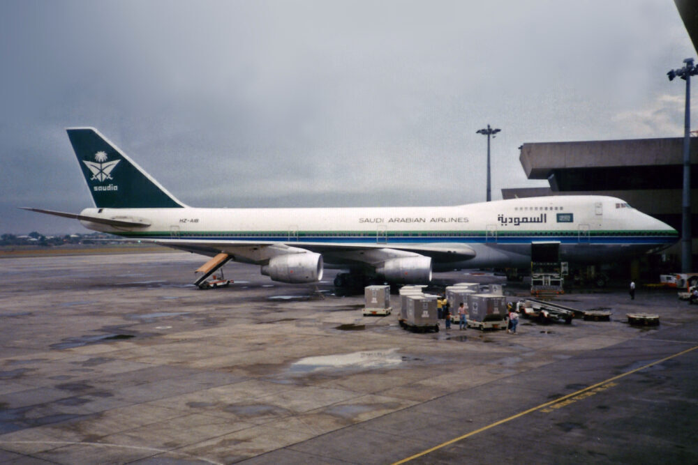 Where Did Saudia Fly Its Boeing 747-100s?