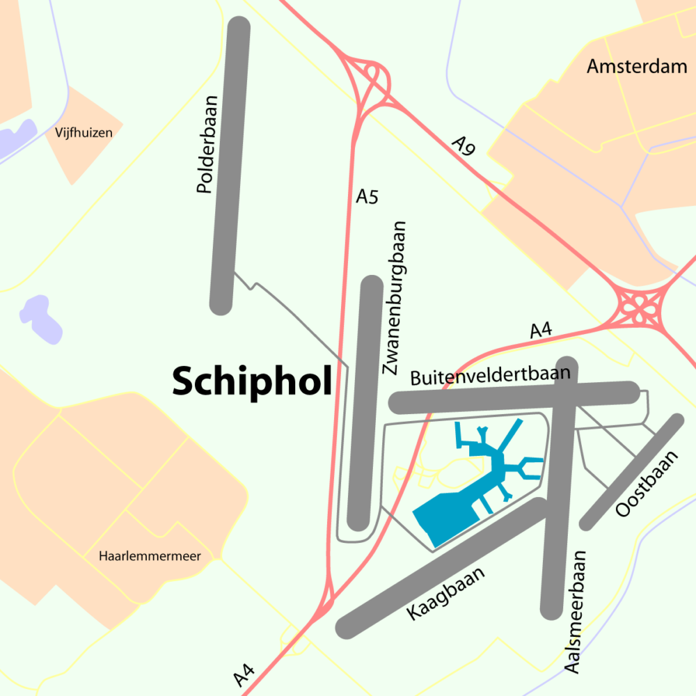 Schiphol-overview