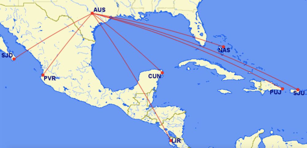 American Airlines Continues To Build Up Austin With 14 More New Routes