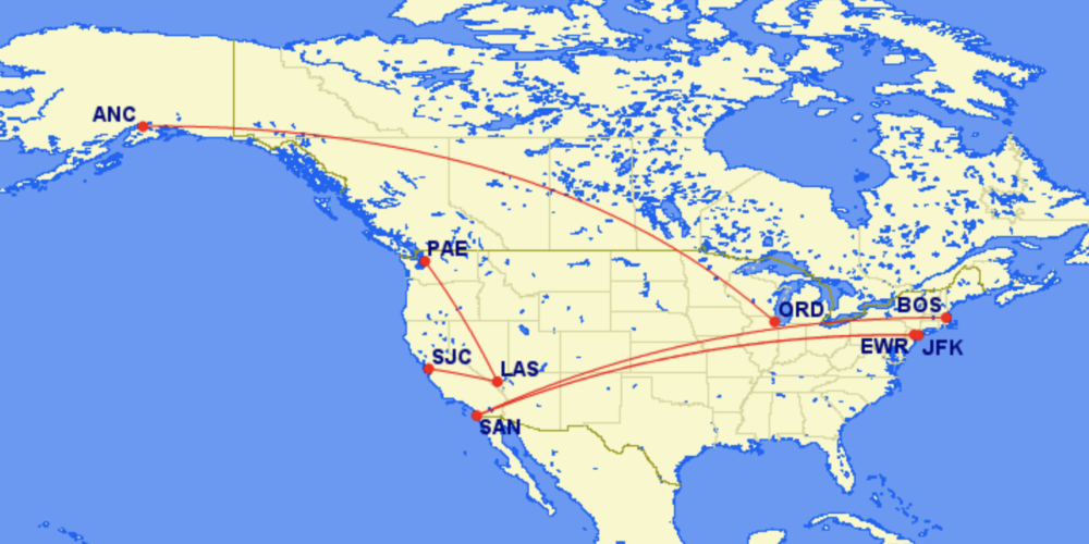 Alaska Airlines And Qatar Airways File For US Codeshares