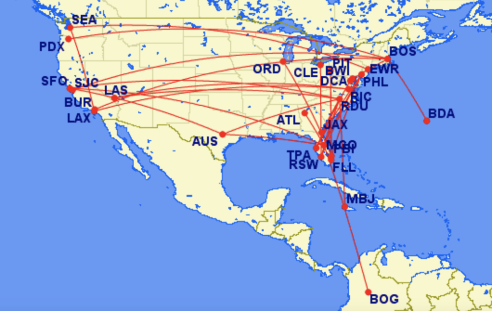 JetBlue Shakes Up Route Map With Cuts Across The US