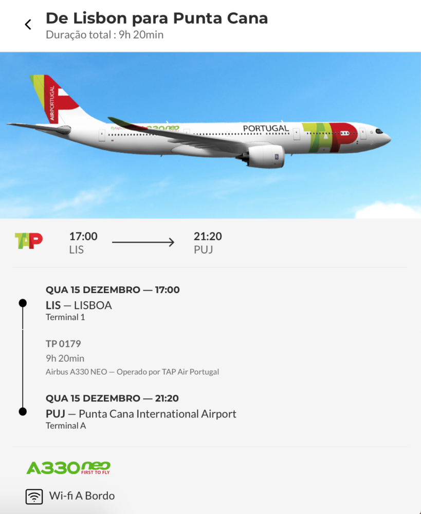 TAP Air Portugal Announces A330neo Flights To Punta Cana