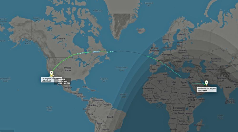 Qantas-Airbus-A380-Abu-Dhabi
