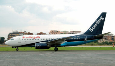 Sterling Airlines Boeing 737