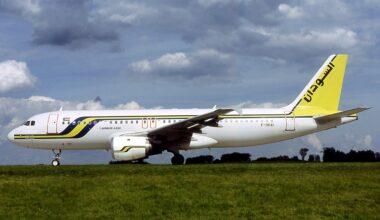 Sudan Airways A320