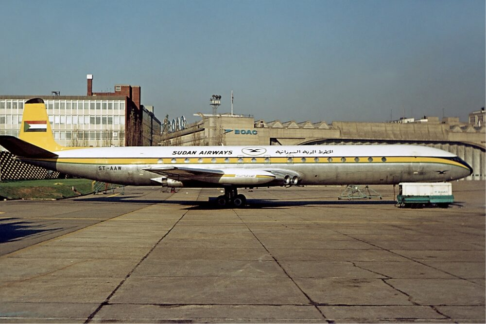 Sudan Airways Comet